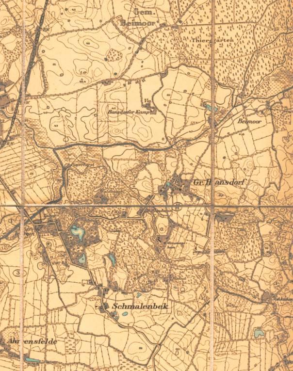"großhansdorf ""messtischblätter"" um 1900, Esstisch ideennn"